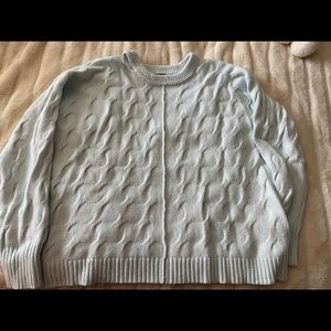 Over sized knit sweater